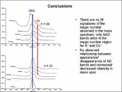 Thumbnail of MAGIC NUMBERS IN ALKALI CATION WATER CLUSTERS: INFARED SPECTROSCOPY OF $Li^{+}(H_{2}O)_{n}$ and $Na^{+}(H_{2}O)_{n}$