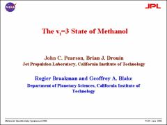 Thumbnail of THE $v_{t}=3$ STATE OF METHANOL