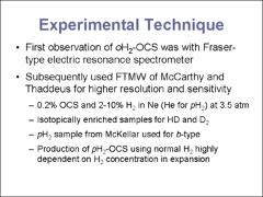 Thumbnail of INTERMOLECULAR POTENTIAL AND ROTATIONAL SPECTRA OF H$_2$-OCS COMPLEXES