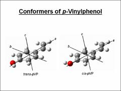 Thumbnail of HIGH RESOLUTION ELECTRONIC SPECTROSCOPY OF P-VINYLPHENOL IN THE GAS PHASE