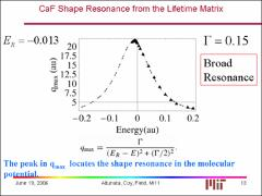 Thumbnail of BROAD SHAPE RESONANCE EFFECTS IN CaF RYDBERG STATES