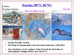 Thumbnail of COMPARISON OF ATMOSPHERIC COLUMN DENSITY MEASUREMENTS OVER EUREKA, NUNAVUT BY TWO FOURIER TRANSFORM SPECTROMETERS