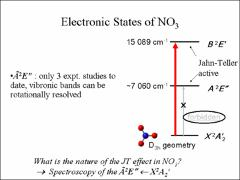Thumbnail of NIR OFF-AXIS ICOS SPECTRUM OF THE NITRATE RADICAL: DOES THE VIBRATIONLESS A$^2$E$^{\prime \prime }$ STATE OF NO$_3$ UNDERGO STATIC JAHN-TELLER DISTORTION?