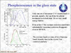 Thumbnail of PHOSPHORESCENCE OF ORTHO-BROMOBENZOPHENONE FROM 1.6 K TO MELTING
