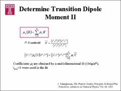 Thumbnail of EXPERIMENTAL MAPPING OF THE ABSOLUTE VALUE OF THE ELECTRONIC TRANSITION DIPOLE MOMENT FUNCTION $\mu_{e}(R)$ OF THE $^{7}$Li$_{2}$ $A^{1}\Sigma^{+}_{u}-X^{1}\Sigma^{+}_{g}$ SYSTEM