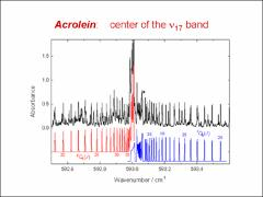 Thumbnail of FIRST RESULTS FROM THE FAR INFRARED BEAMLINE AT THE CANADIAN LIGHT SOURCE: HIGH RESOLUTION ANALYSIS OF ACROLEIN IN THE 600 CM$^{-1}$ REGION