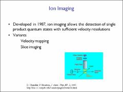 Thumbnail of MASKED  VELOCITY MAP IMAGING AS A WAY TO OBTAIN ONE-PHOTON DOPPLER-FREE SPECTRA