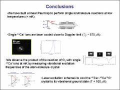 Thumbnail of SYMPATHETICAL LASER COOLING OF MOLECULAR IONS TO THE $\mu$K REGIME