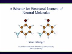 Thumbnail of A SELECTOR FOR STRUCTURAL ISOMERS OF NEUTRAL MOLECULES