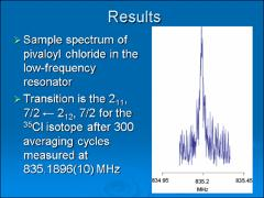 Thumbnail of THE PURE ROTATIONAL SPECTRUM OF PIVALOYL CHLORIDE, (CH$_3$)$_3$CCOCl, BETWEEN 800 MHz AND 18800 MHz