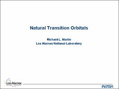 Thumbnail of NATURAL TRANSITION ORBITALS