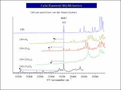 Thumbnail of ELECTRONIC SPECTRA OF CALIX[n]ARENE AND ITS VAN DER WAALS CLUSTERS IN SUPERSONIC JETS
