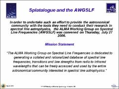 Thumbnail of SPLATALOGUE: DATABASE FOR ASTRONOMICAL SPECTROSCOPY