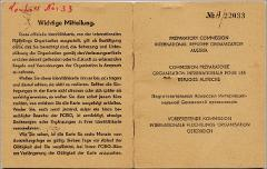 Thumbnail of Refugee Identity Card: Yurii Fedechko