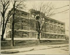 Thumbnail of Arps Hall, The Ohio State University: Front elevation