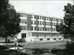 Thumbnail of Arps Hall, The Ohio State University: Addition elevation
