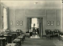 Thumbnail of Administration Building (Bricker Hall), The Ohio State University: Interior view of faculty club