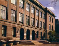 Thumbnail of Administration Building (Bricker Hall), The Ohio State University: Front facade
