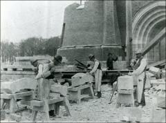 Thumbnail of Armory, The Ohio State University: Construction view
