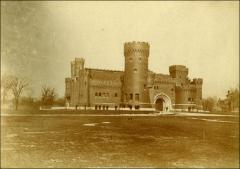 Thumbnail of Armory, The Ohio State University: Exterior view, 1899