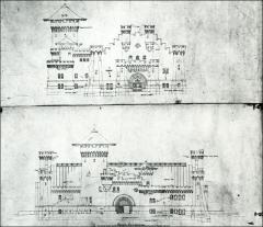 Thumbnail of Armory, The Ohio State University: Elevation drawings