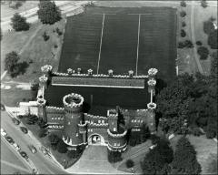 Thumbnail of Armory, The Ohio State University: Aerial view