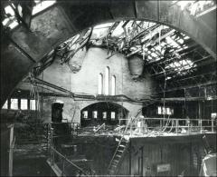 Thumbnail of Armory, The Ohio State University: Fire damage, 1959