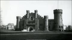 Thumbnail of Armory, The Ohio State University: Exterior view, 1921