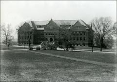 Thumbnail of Botany and Zoology Building, The Ohio State University: View of original building from east