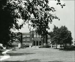 Thumbnail of Campbell Hall, The Ohio State University: Exterior view of east facade, 1926