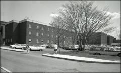 Thumbnail of Campbell Hall, The Ohio State University: Exterior view of addition