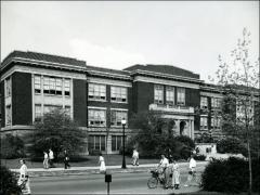 Thumbnail of Campbell Hall, The Ohio State University: Exterior view of east facade