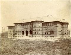 Thumbnail of Chemistry Building No. 2, The Ohio State University: Exterior view of south facade