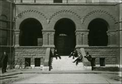 Thumbnail of Chemistry Building No. 2, The Ohio State University: Exterior view of entry
