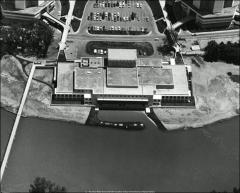 Thumbnail of Drake Union, The Ohio State University: Aerial view, 1972