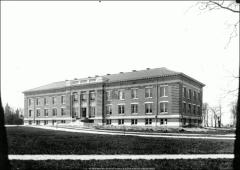 Thumbnail of Derby Hall (Chemistry Building No. 3), The Ohio State University: Exterior view from southeast