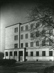 Thumbnail of Hagerty Hall, The Ohio State University: View of addition from northeast