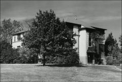 Thumbnail of Poultry Administration Building, The Ohio State University: Exterior view, 1950