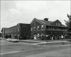 Thumbnail of Ives Hall, The Ohio State University: Exterior view from southeast, 1960
