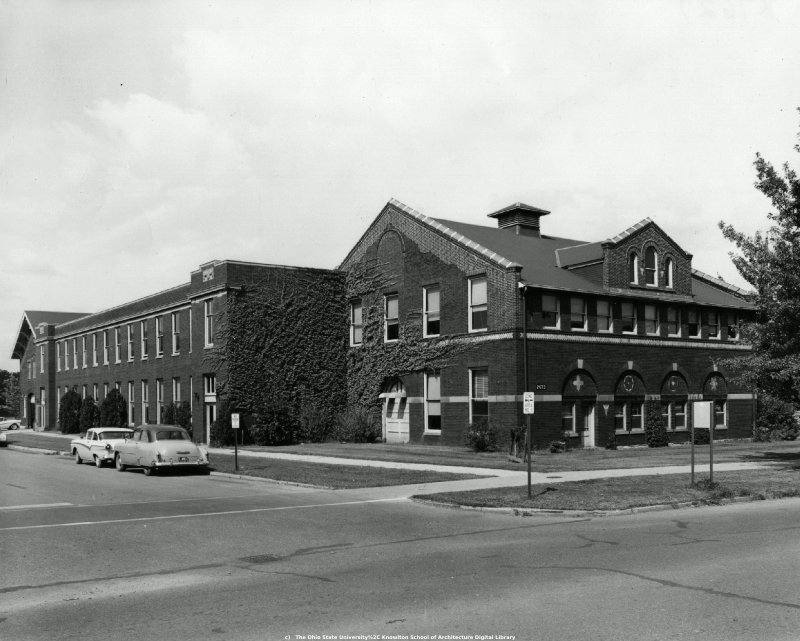 ... Thumbnail Of Ives Hall, The Ohio State University: Exterior View From  Southeast, 1960