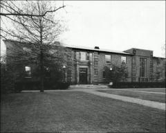 Thumbnail of Faculty Club, The Ohio State University: Exterior view of north facade