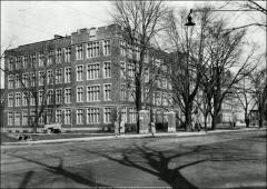 Thumbnail of Hamilton Hall, The Ohio State University: Exterior view, 1937