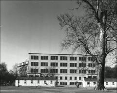 Thumbnail of Hagerty Hall, The Ohio State University: View of addition from south