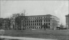 Thumbnail of Hagerty Hall, The Ohio State University: View from Oval