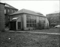Thumbnail of Fine Arts Studio, The Ohio State University: Exterior view from northeast