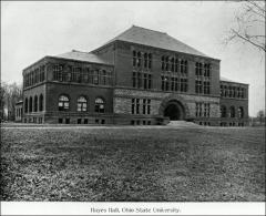 Thumbnail of Hayes Hall, The Ohio State University: Exterior view, 1895