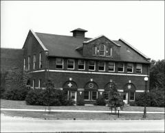 Thumbnail of Ives Hall, The Ohio State University: Exterior view from southeast