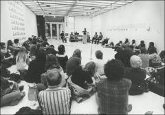 Thumbnail of Hopkins Hall, The Ohio State University: Interior view of exhibition space