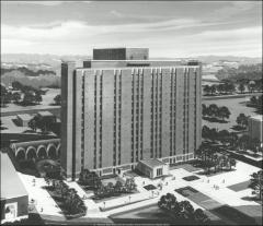 Thumbnail of Jones Graduate Tower, The Ohio State University: Architect's rendering