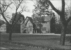 Thumbnail of Honors House (President's Residence No. 2), The Ohio State University: Exterior view from southeast